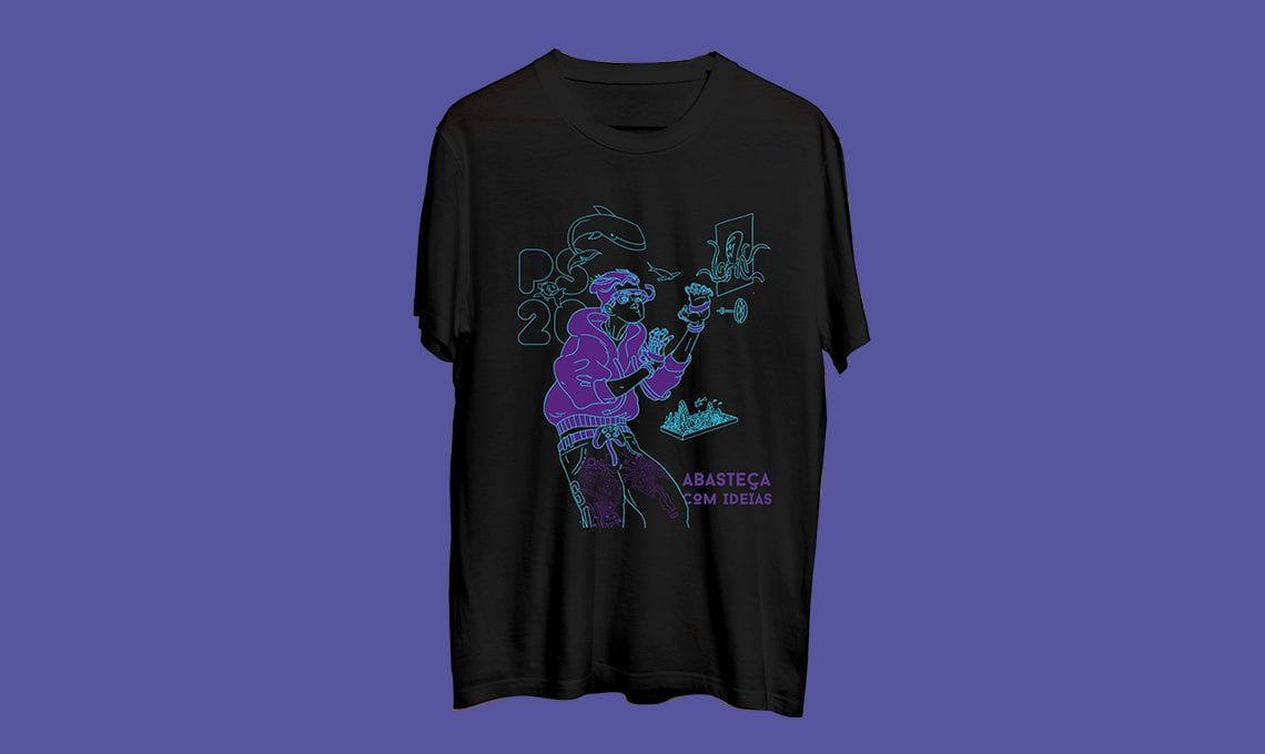 Pixel Show 2020 . Camiseta