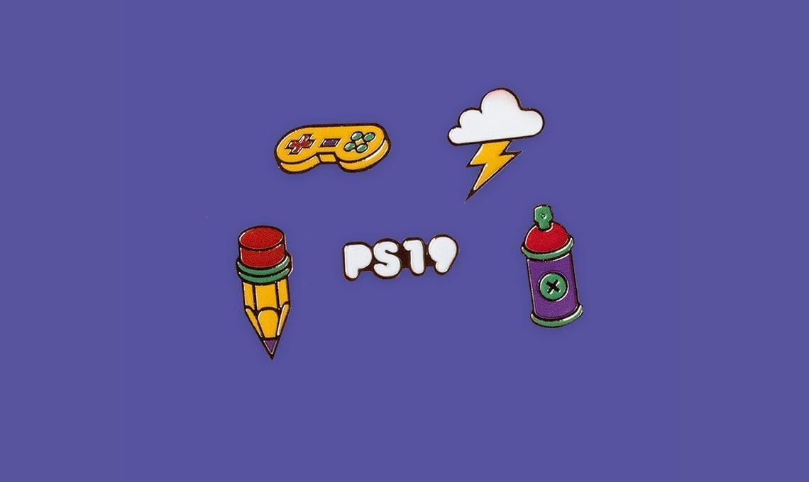 Pixel Show 2020 . Kit de Pins